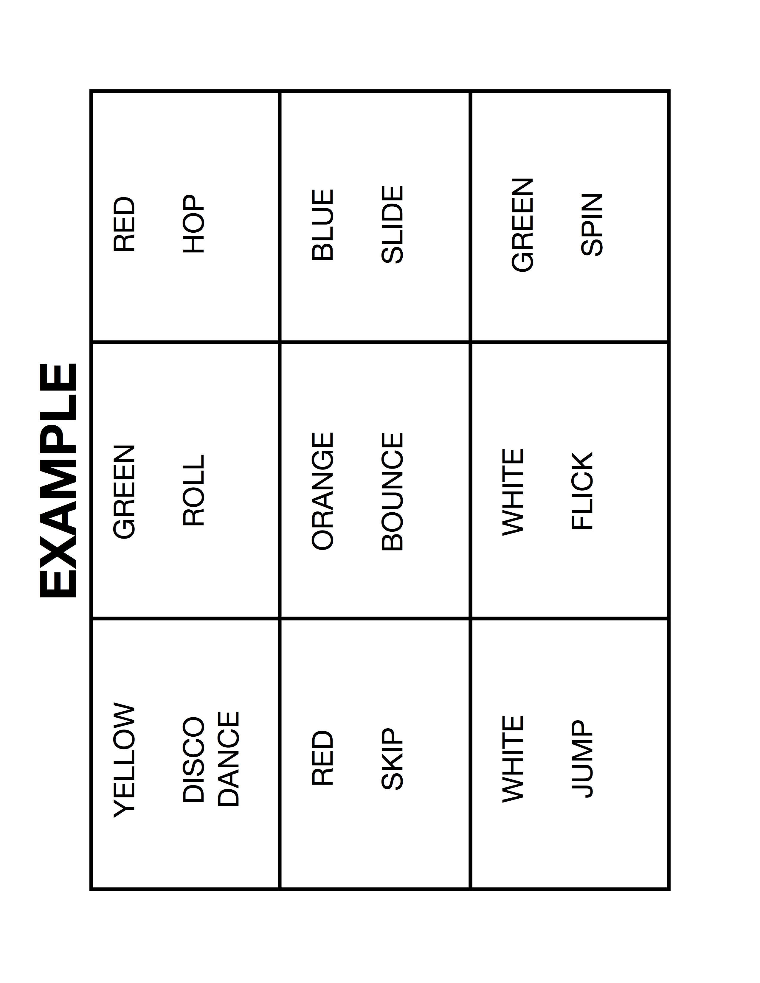 Rubic's Cube Activity Sheets